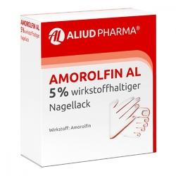 Amorolfin al 5 wirkstoffhaltiger nagellack