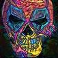 Psychoskulls, deadpool, marvel - plakat wymiar do wyboru: 42x59,4 cm