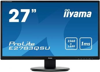 IIYAMA 27 E2783QSU-B1 WQHD,USB,1ms,HDMI,DP,FLICKER FREE,HDCP
