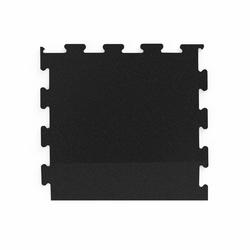 Bok do podłogi pod wolne ciężary puzzle czarny - marbo sport - 6-20 mm