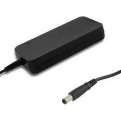 Qoltec zasilacz do dell 150w 19.5v 7.7a 7.4 x 5.0 + pin | + kabel zasilający