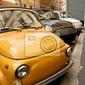 Obraz samochody w rzymie.