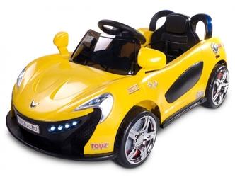 TOYZ AERO Żółty Samochód dla Dzieci + PILOT DLA RODZICA