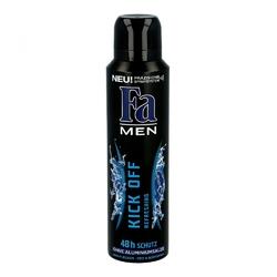 Fa deo spray men kick off refreshing 48h