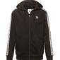 Adidas 3-stripes hoodie dv1551 s czarny