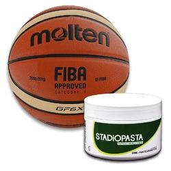Stadiopasta - maść lecznicza na kontuzje 250 ml + Piłka Molten BGF6X dla kobiet