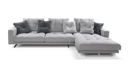 Sofa narożna nobonobo most gr3 tkaninowa prawostronna - 3