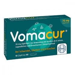 Vomacur 70 czopki