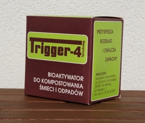 Preparat do kompostowania trigger-4 100 g + 2 worki 80 l