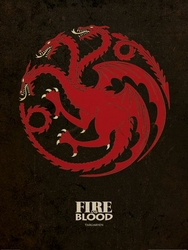 Game of Thrones Targaryen - reprodukcja