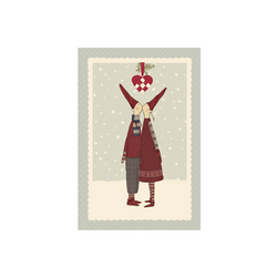 KARTKA ŚWIĄTECZNA PIXY KISS Maileg