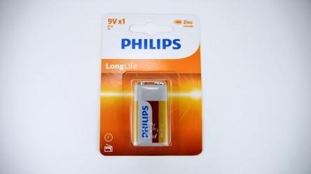 Bateria do miernika ph – philips 6f22 9v