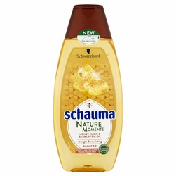 Schauma Nature, MiódFiga, szampon do włosów, 400ml