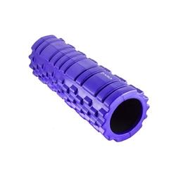 Wałek fitness 33cm fs103 fioletowy - hms - fioletowy