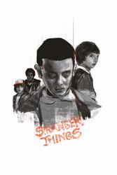 Stranger Things - plakat premium Wymiar do wyboru: 40x60 cm