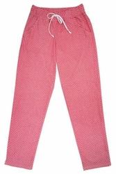 Babella damskie 3083 czerwony spodnie