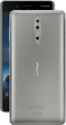 Nokia Smartfon 8 Dual SIM Steel SZARY