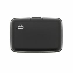 Portfel Aluminiowy Ogon Designs Stockholm Black RFID protect - Black