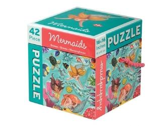 SYRENKI puzzle tekturowe 42 el.