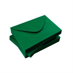 Koperta C6 - zielony ciemny 110 g - zielony ciemny