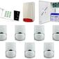 Zestaw alarmowy satel ca-10 led, 5 czujek, sygnalizator zewnętrzny - szybka dostawa lub możliwość odbioru w 39 miastach