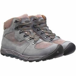 Buty trekkingowe męskie keen westward mid leather wp - szary