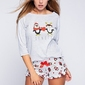 Sensis winter pingu piżama damska