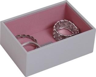 Szkatułka na biżuterię stackers open mini szara