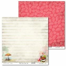 Ozdobny papier Vintage Tropical Island 30,5x30,5 cm - 05 - 05