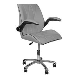 Krzesło kosmetyczne 239b szare