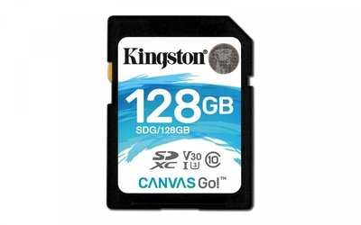 Kingston SD 128GB Canvas Go 9045MBs CL10 U3 V30