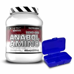 HI-TEC AMINO ANABOL 200 caps + PILLBOX