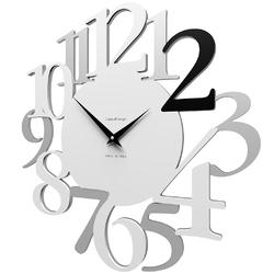 Zegar ścienny russell calleadesign biały  szary  czarny 10-020-5