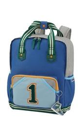 Plecak sam school spirit niebieski m - niebieski