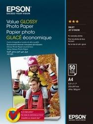 Epson Value Glossy Photo Paper A4 50 Kartek