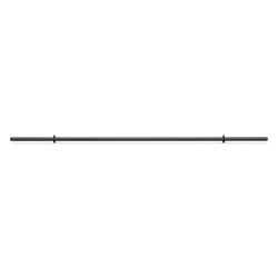Gryf prosty wzmocniony 29 mm 198cm mw-g198-ex-black - marbo sport