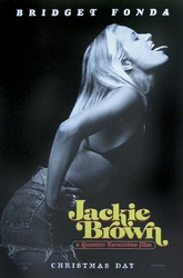 Jackie Brown Bridget Fonda - plakat