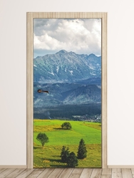 Fototapeta naklejka na drzwi góry fp 6327