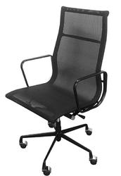 Fotel biurowy z wysokim oparciem z siatki aeron prestige