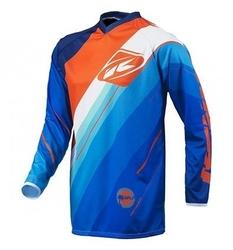 Kenny koszulka off-road split blue
