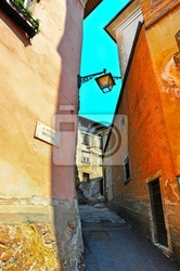 Fototapeta wąska ulica