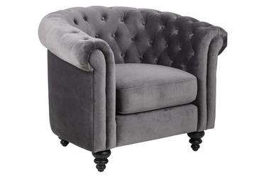 Fotel charlietown vic dark grey