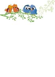 Tablica magnetyczna suchoscieralna dla dzieci sowy 125