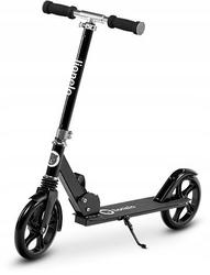 Lionelo luca czarna hulajnoga aluminiowa 5 lat gwarancji + prezent 3d