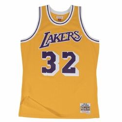 Koszulka Mitchell  Ness Magic Johnson 1984-85 NBA Hardwood Classics Swingman Los Angeles Lakers - Johnson Home
