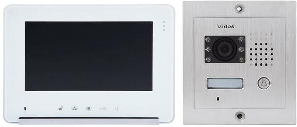 Wideodomofon VIDOS M690W S2S601 - Szybka dostawa lub możliwość odbioru w 39 miastach
