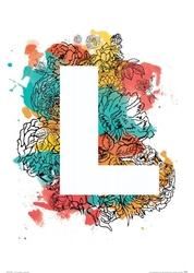 Flower quattro - l - plakat