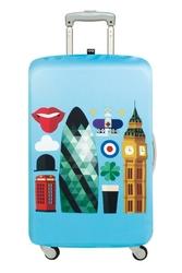 Pokrowiec na walizkę LOQI Hey London