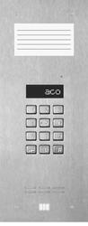 Aco inspiro 9+ centrala master, do 1020 lokali, lcd, pole opisowe małe - możliwość montażu - zadzwoń: 34 333 57 04 - 37 sklepów w całej polsce