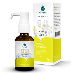 WITAMINA C Quali®-C 16 mg kwas L-askorbinowy w kroplach 30 ml
